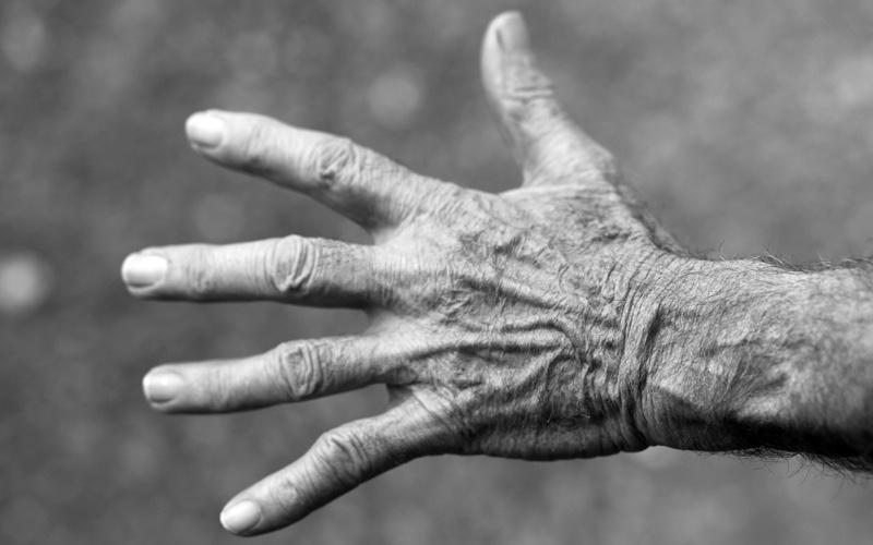 Trillende handen